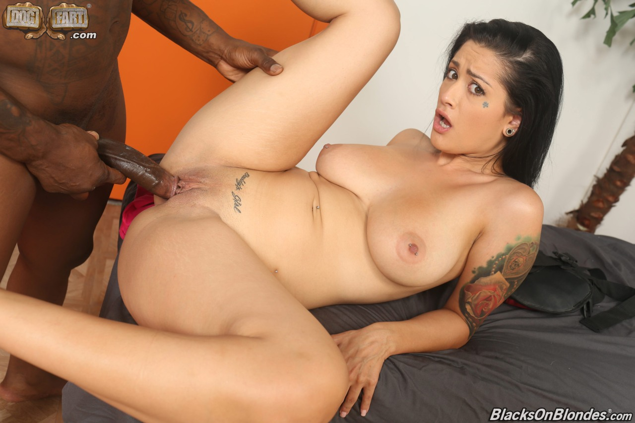 Interracial bigtit creampie