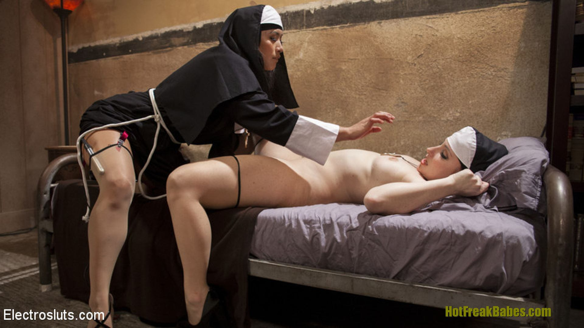 Can suggest Lesbian nun video speaking