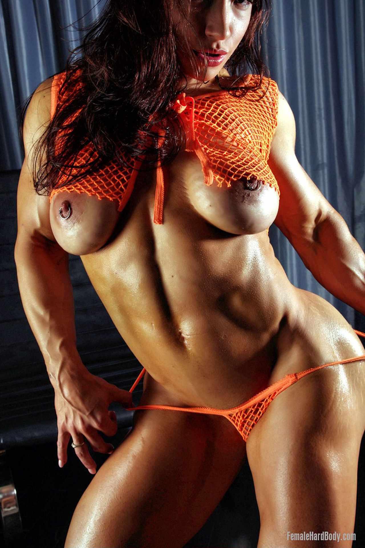 Hard erotic muscle women