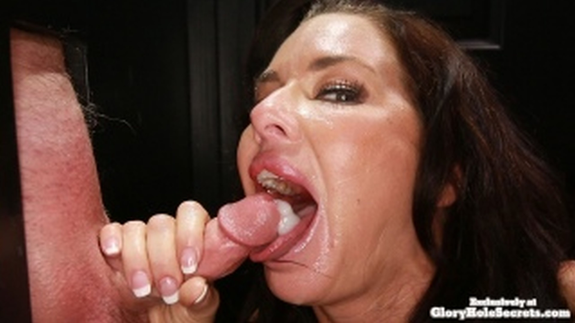 She loves sucking balls and licking assholes 8