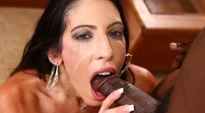 Dava Foxx Throated!