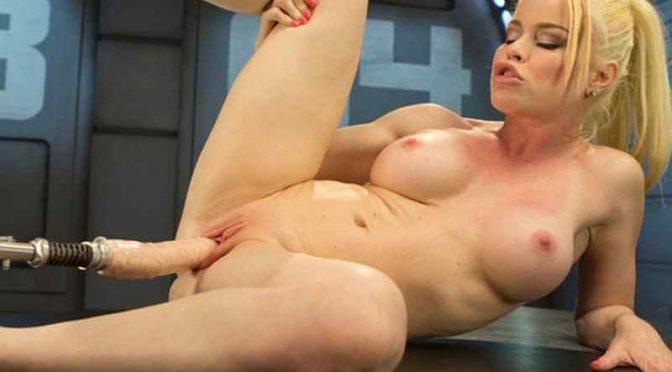 Nikki Delano, Sexy Blonde Nikki Delano Gets Machine Fucked for the First Time, blonde, sexy blonde, FuckingMachines, machines, beautiful women, fucking machines, dildos, sextoys, orgasms