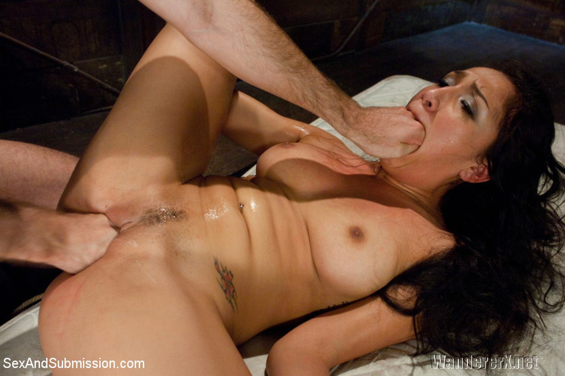 Vicki Chase, Sex and Submission - Vicki Chase's Submission, James Deen, Latina, petite, rough bondage sex, anal, oral, fisting, bondage sex, Sex and Submission, Bondage, domination, BDSM, rough sex, submissive, submissive female